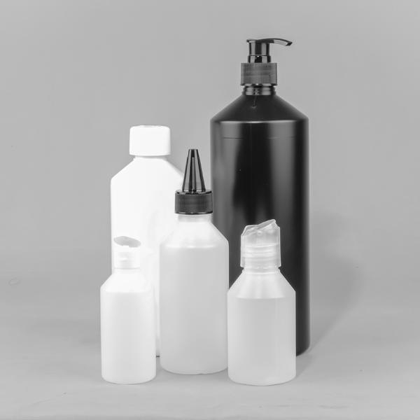Narrow neck liquid bottles