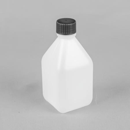SQUARE NON TAMPER EVIDENT HDPE PLASTIC BoTTLE