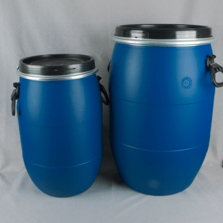 UN APPROVED OPEN TOP PLASTIC DRUMS