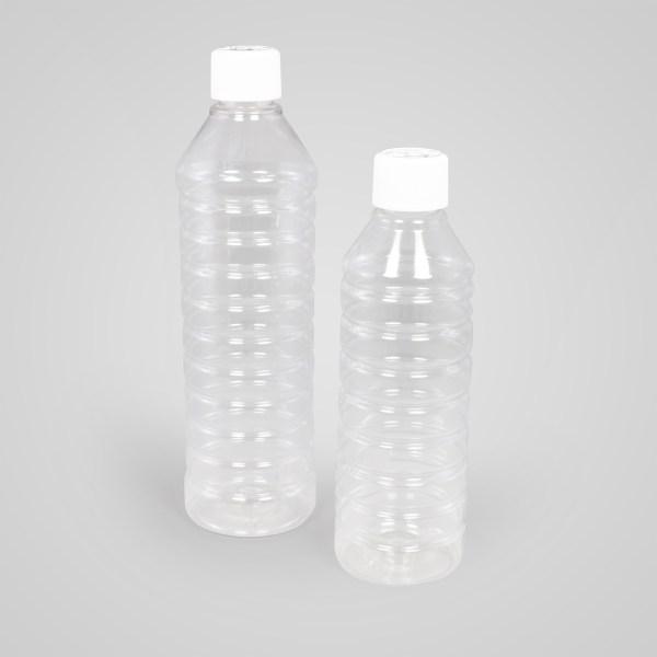 White spirit bottles