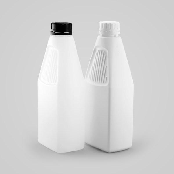 Plastic Rectangular Bottle