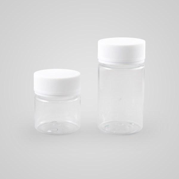 Clear Screw Top Jar
