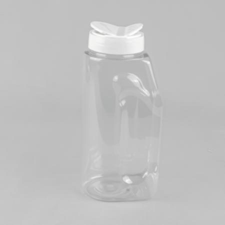 1ltr square plastic bottle