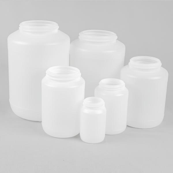 wide neck plastic jar