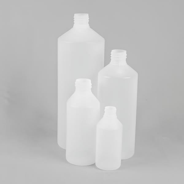 Fluorinted swipe plastic bottle