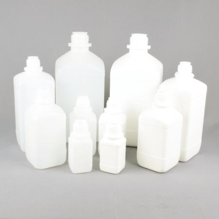 Narrow neck plastic bottle