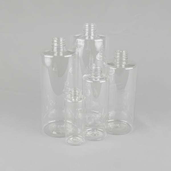 flat shoulder plastic bottles